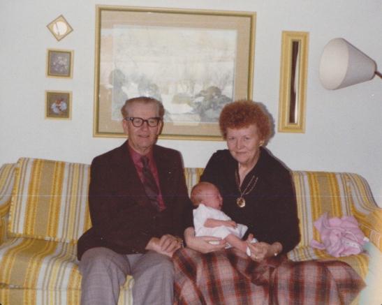 old photos, grandparents