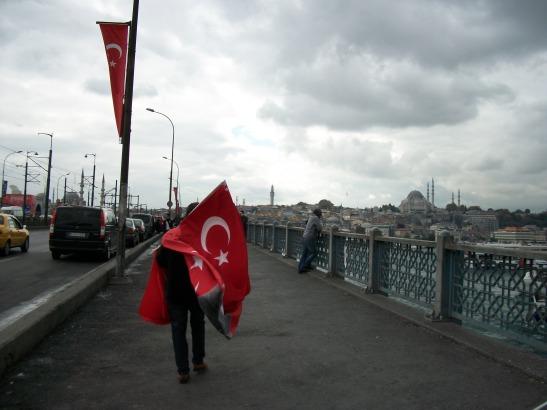 Galata Bridge, Istanbul.