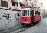 Istanbul tram, Istanbul travel, Taksim