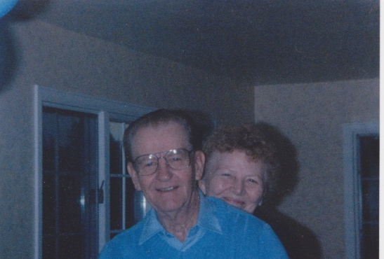 My grandparents (not in the story, but close!)