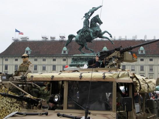 Austrian Military, Heldenplatz, Vienna