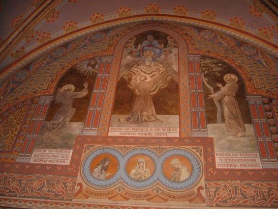 In St. Matthias, Budapest, Hungary, travel