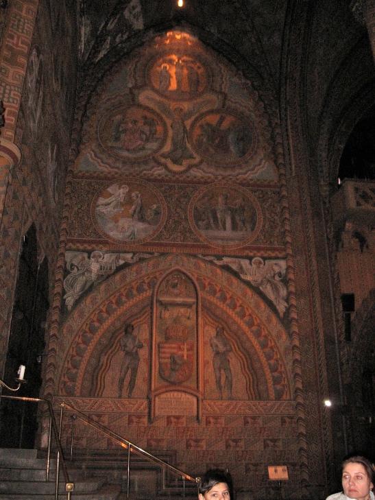 St. Matthias wall, Budapest, Hungary