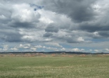 sky, landscape, Wyoming, photography
