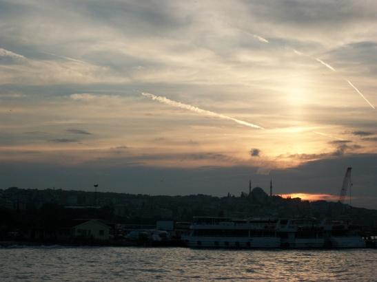 Istanbul, sunset, travel