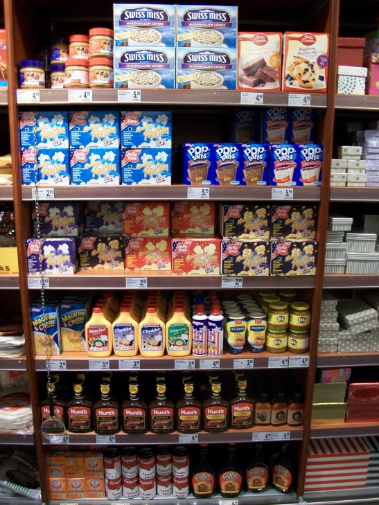 American food, Germany grocery