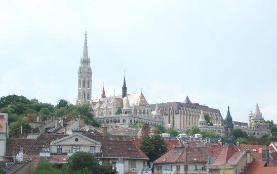 St. Matthias Church, Budapest, Hungary, travel