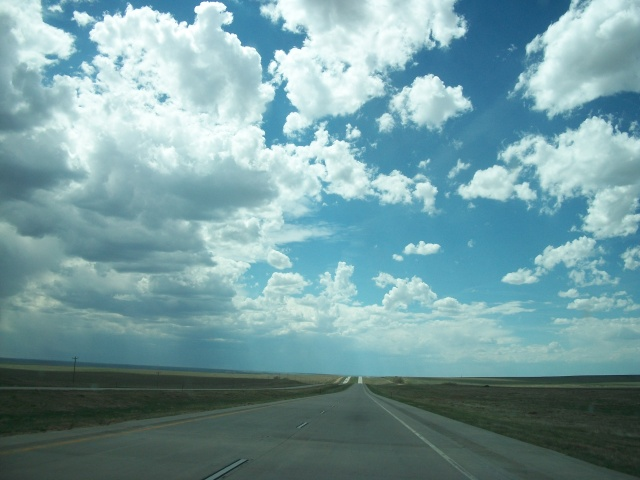 Kansas, Nebraska, Colorado, sky