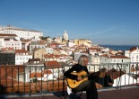 Lisbon, travel photos, Portugal, guitar