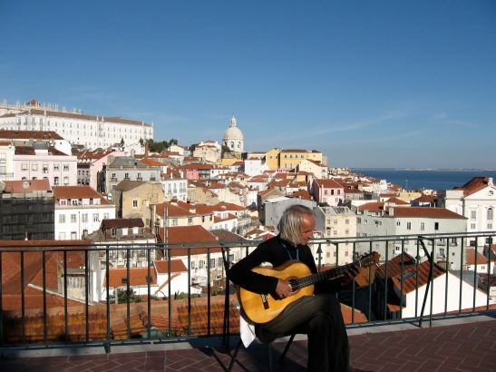 Lisbon,  travel photos, Portugal, guitar