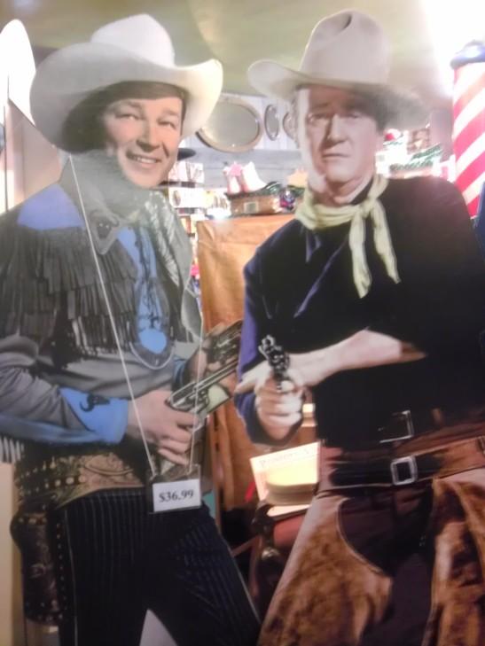 John Wayne, cowboy