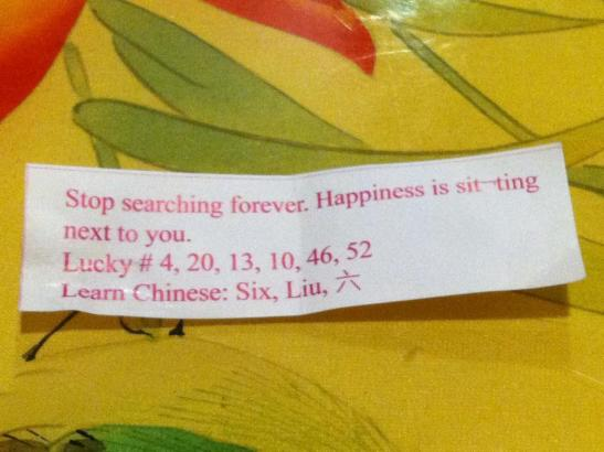 funny fortune cookie, happiness