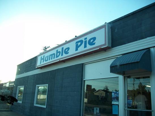 Cleverly-titled pizza place. Pratt, Kansas. USA.