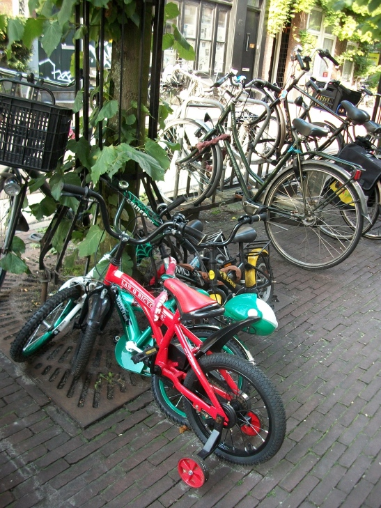 Amsterdam, bicycle tour