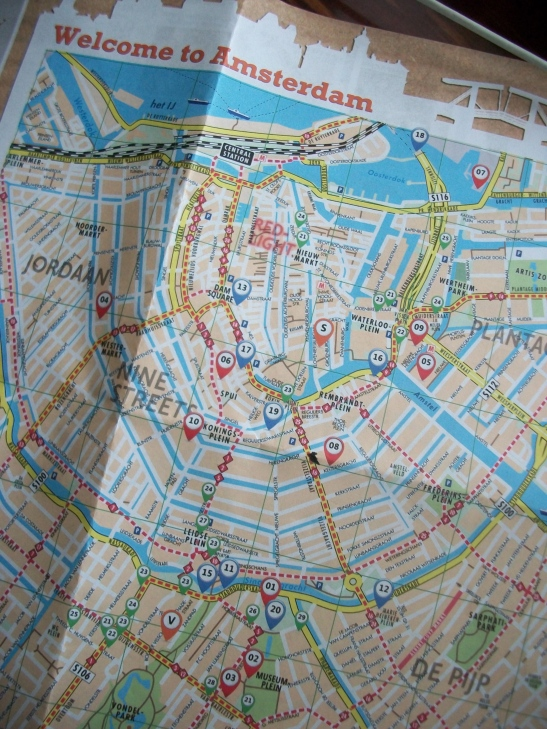 map of Amsterdam