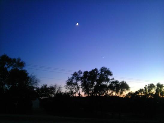 Night over Nebraska