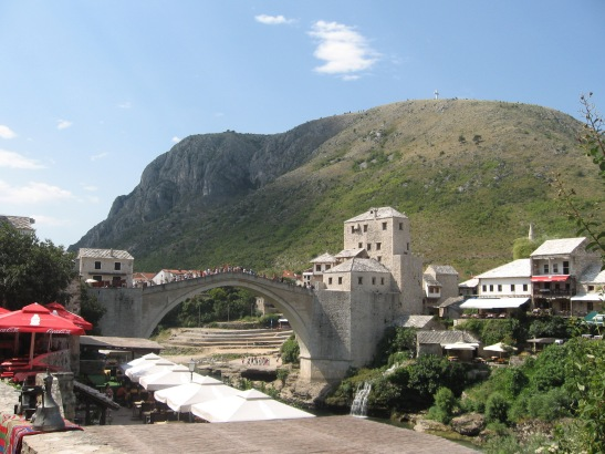 Mostar, Mostar bridge, Bosnia