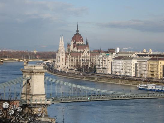 Danube, Budapest, parliament