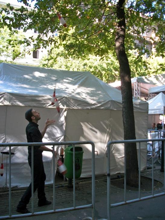 juggling, juggler, circus budapes