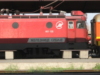 Serbian train, train travel