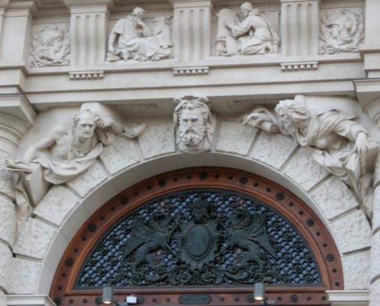 Vienna, Austria, statues