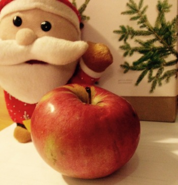 THE apple. Merry Christmas!