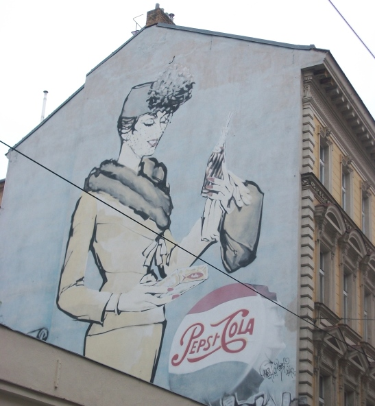 old pepsi ad, prague pepsi, Pepsi-Cola ad