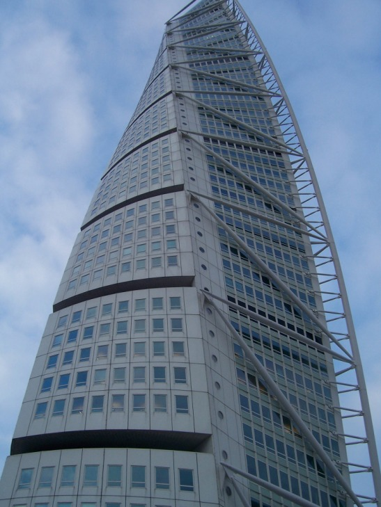 Turning Torso Building, Malmö, Sweden
