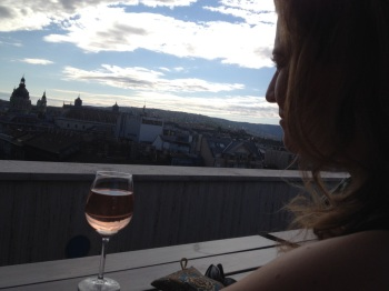 Here's to the scenes I'll set in Budapest. :)