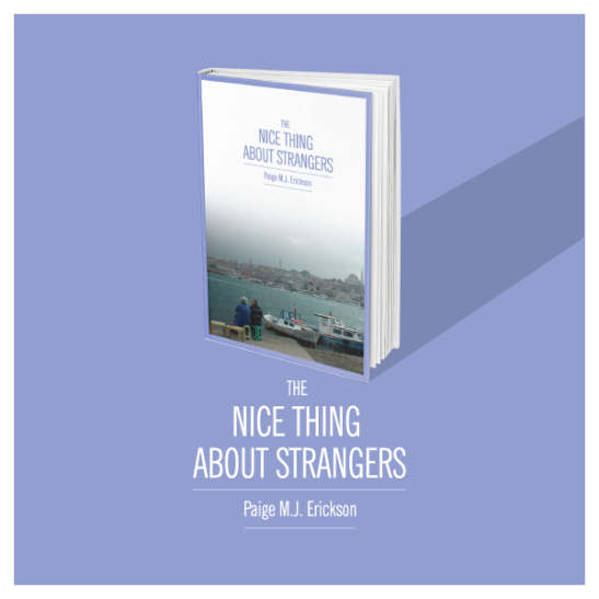 the nice thing about strangers book, paige m.j. erickson, paige erickson