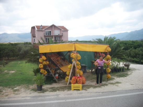 fruit stand, Bosnia