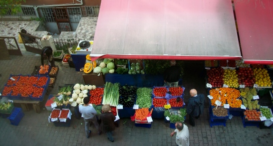market in Istanbul