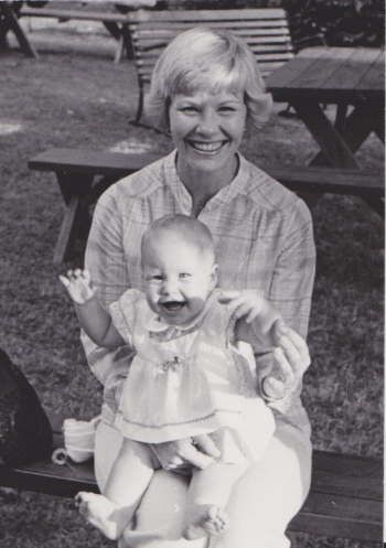 Happy Mother's Day, Mom! (Seen holding baby Paige)